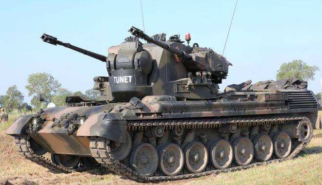 Militarii artileriști din Forțele Terestre au testat sistemul Gepard și tunul 2x30 mm - midia-1594303548.jpg