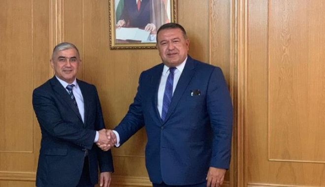 Foto: Mihai Daraban conduce misiunea economică în Republica Tadjikistan