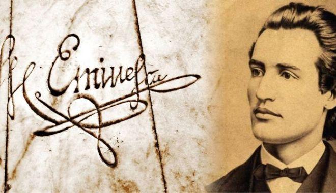 Foto: Mihai Eminescu, poezie scrisă înainte să moară