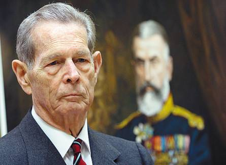 Foto: Regele Mihai, invitat în Parlament