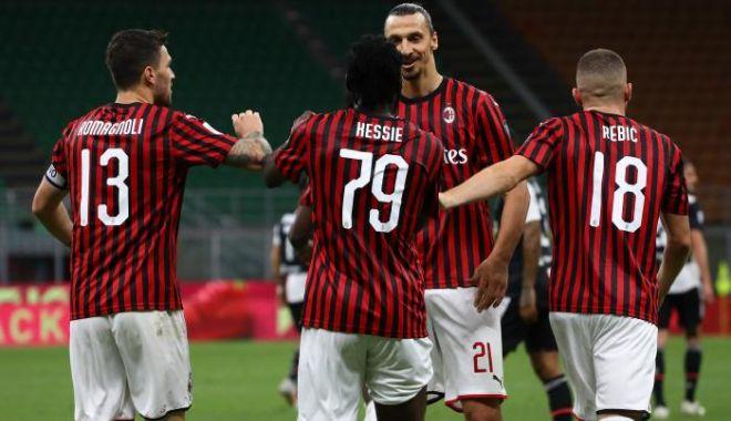 Foto: Milan o întoarce pe Juventus și câștigă derby-ul Derby d'Italia