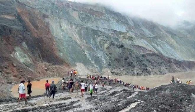 Cel puțin 113 mineri au murit îngropați de vii într-o mină abandonată de jad din Myanmar - mina-1593681598.jpg
