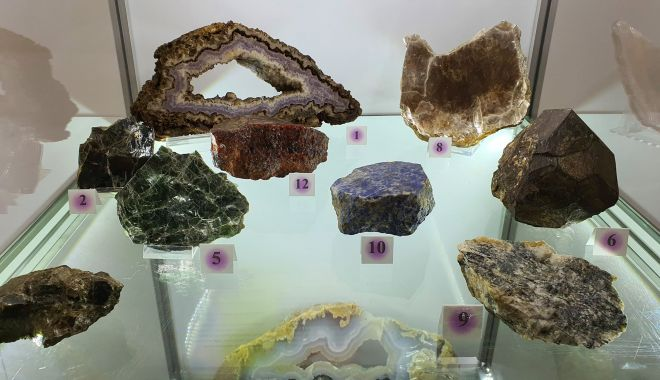 Foto: Expoziție de minerale, la Muzeul de Istorie Constanța
