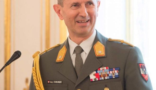 """Foto: Ministrul Apărării din Austria: """"Țara este neprotejată din lipsă de finanțare"""""""