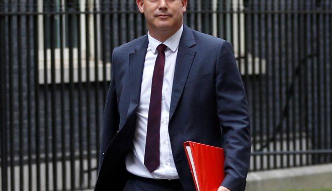 """Foto: Ministrul britanic Stephen Barclay: """"Riscul unui Brexit fără acord este real!"""""""