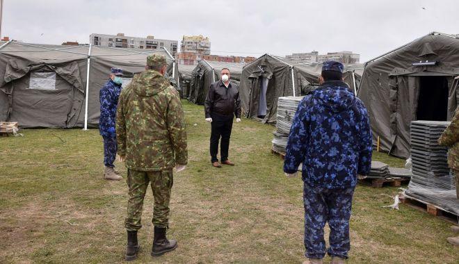 """Foto: """"Militarii fac toate eforturile pentru a sprijini spitalele din Dobrogea"""""""