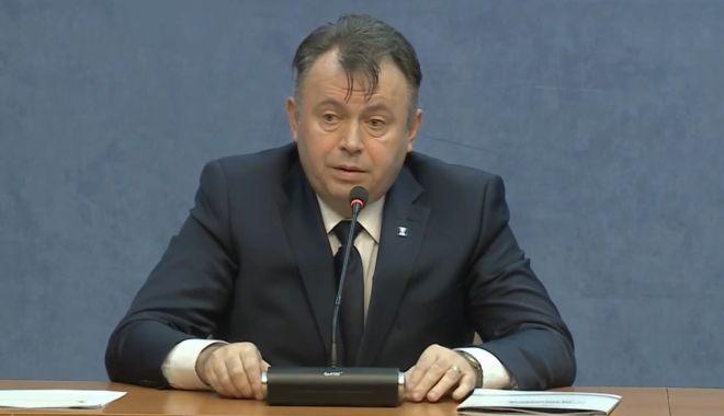 """Foto: Ministrul Nelu Tătaru: """"După 1 iunie vom începe evaluarea imunității colective"""""""