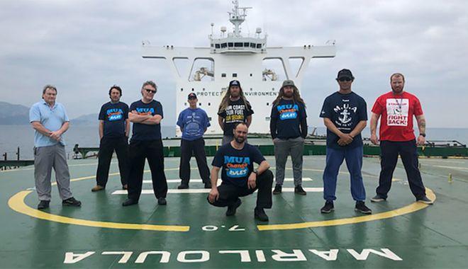 Foto: Mișcarea sindicală internațională cere guvernului australian să salveze flota națională