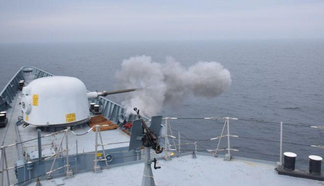 Foto: Misiuni de foc în raioane maritime ale Mării Negre