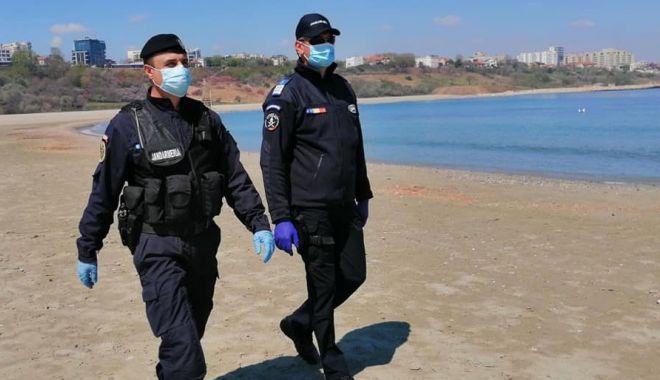 Foto: Sancțiuni de mii de lei, date de jandarmi pe litoral