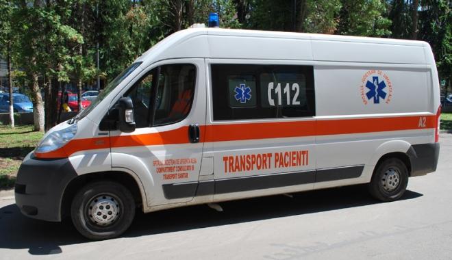Foto: Proteste la sediul Serviciului de Ambulanță Constanța