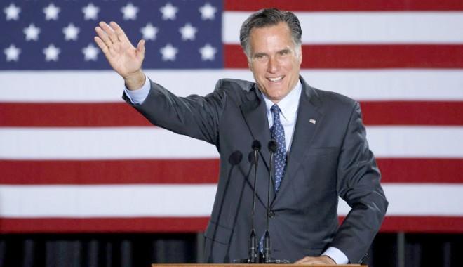 Foto: Alegeri SUA: Mitt Romney a câștigat primarele republicane în trei state