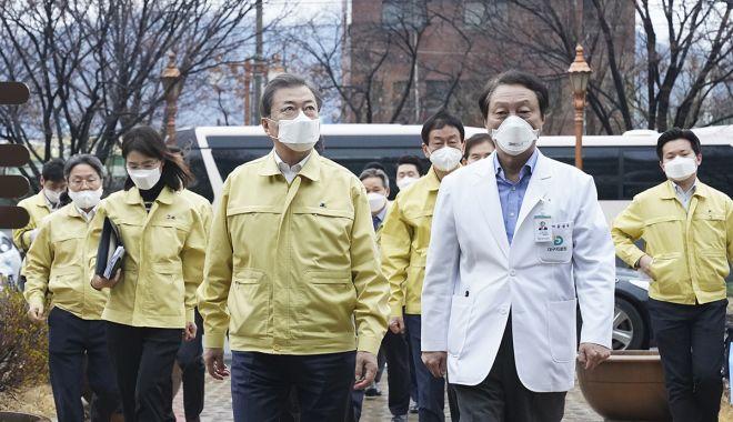 Foto: Mobilizare totală în Coreea de Sud împotriva epidemiei de coronavirus