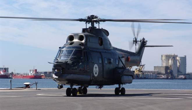 Foto: Elicopterele IAR 330 Puma Naval au fost modernizate