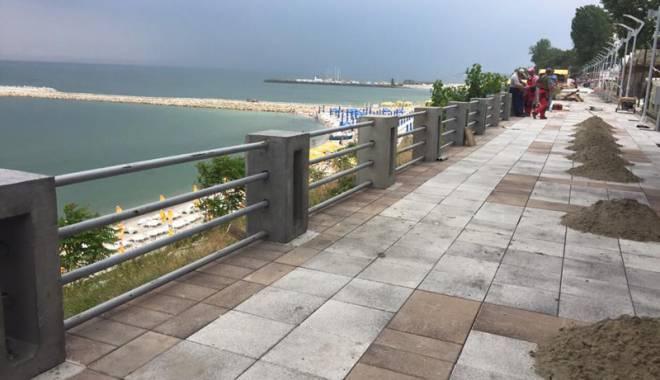 Modernizarea promenadei din Eforie Nord, aproape de final - modernizareapromenadeieforie2-1434732594.jpg