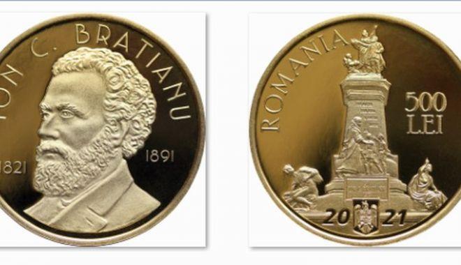 A fost lansată o monedă din aur dedicată lui Ion C. Brătianu - moneda-1627915812.jpg