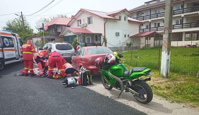 VIDEO / Motociclist, resuscitat în Vama Veche. I s-a blocat pedala de accelerație! - motociclist-1589710572.jpg