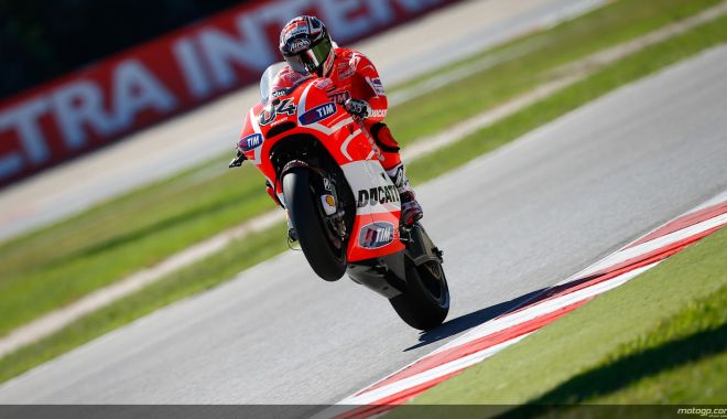 Foto: Andrea Dovizioso a câștigat Marele Premiu al Qatarului, la Moto GP