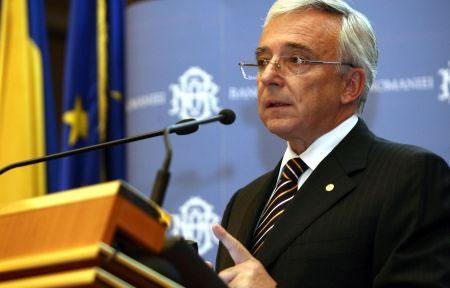 Guvernatorul BNR, la Universitatea