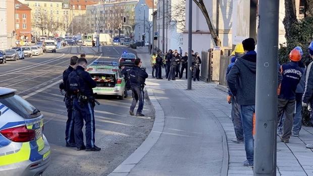 Foto: Focuri de armă la Munchen, nu departe de Centrul Vechi. Sunt doi morți