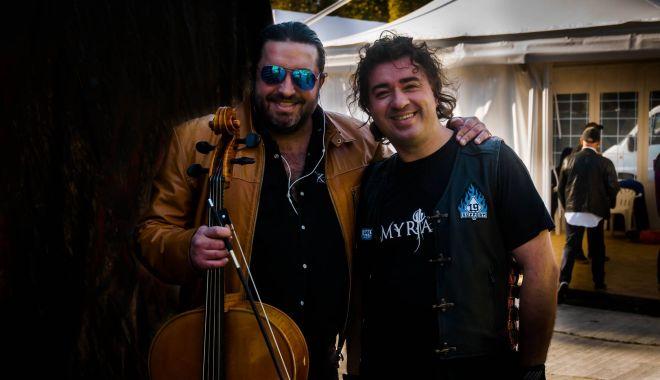 Foto: Adrian Naidin și Ionuț Micu, reuniți într-un experiment acustic