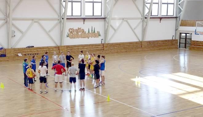 Foto: Tricolorele au dat startul pregătirii pentru Eurobasket 2015