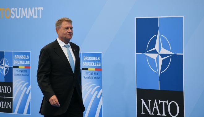 Klaus Iohannis participă azi la Summitul NATO de la Bruxelles. Preşedintele Joe Biden, prezent pentru prima oară la reuniune - nato-1623653469.jpg