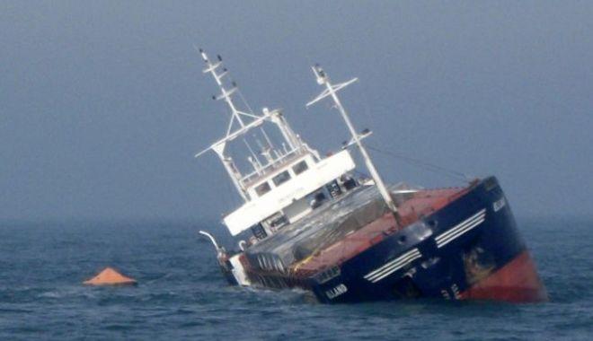 O navă încărcată cu fier vechi s-a scufundat în Marea Neagră - nava-1539437598.jpg