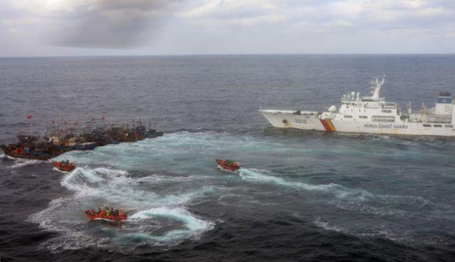 Foto: Două nave s-au scufundat pe coasta Asiei de Est