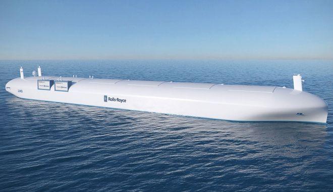 Foto: Navele fără echipaje vor începe să fie vândute, pe piață, până în 2025