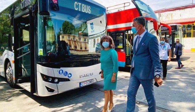 Foto: Primăria Năvodari, consultare publică pe tema traseelor cu autobuzele CT BUS