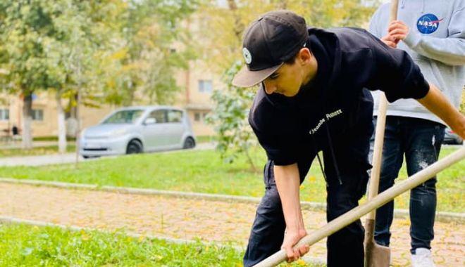 Foto: Năvodari, un oraș mai verde! Mobilizare exemplară a comunității
