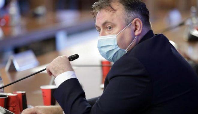 Foto: Ministrul Sănătății: Azi vom avea mai puține cazuri de coronavirus