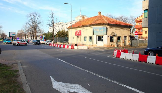 Foto: Un nou sens giratoriu, la Constanța. Unde va fi amplasat
