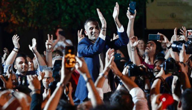 Foto: Noul primar al Atenei promite o nouă eră post-criză pentru capitala Greciei
