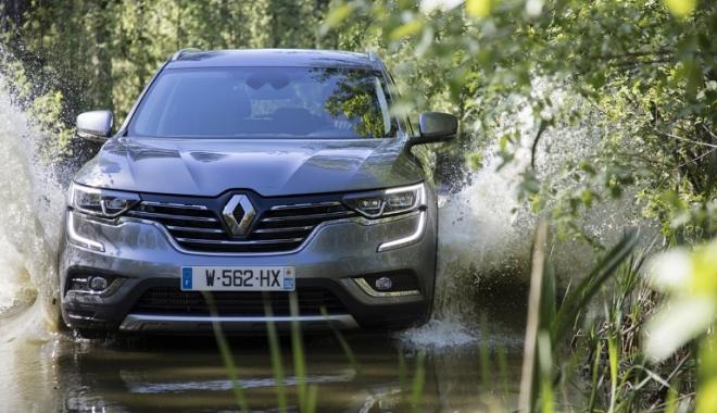 Foto: GALERIE FOTO / Siguranță de 5 stele pentru noul Renault KOLEOS
