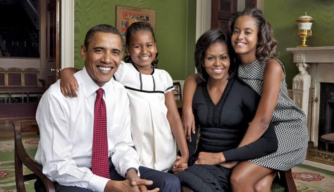 Foto: Obama:  Gărzile de corp vor ține băieții la distanță de fiicele mele