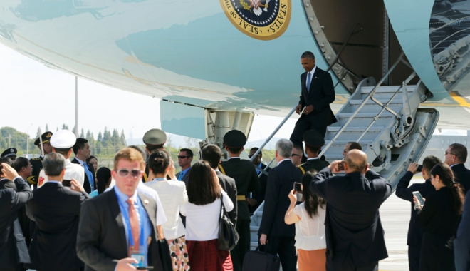 Foto: Obama, umilit de chinezi la summitul G20