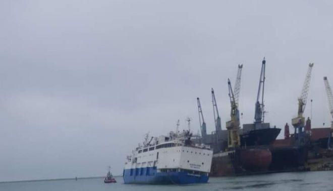 Foto: Comandantul navei cu 14.000 de oi, răsturnate la Midia, ar putea ajunge la închisoare!