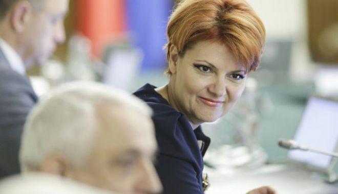 Foto: Legea pensiilor va fi anunțată joi. Întâlnire Liviu Dragnea și Lia Olguța Vasilescu, la Parlament, pentru a discuta despre forma finală