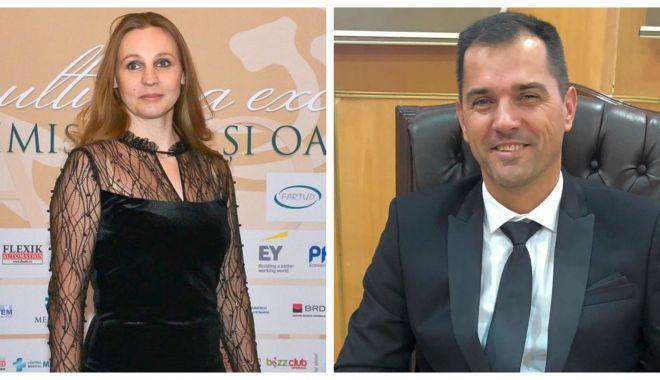 Simona Amânar Tabără şi Alin Larion, membri ai Comitetului Executiv al COSR - oli-1600959060.jpg