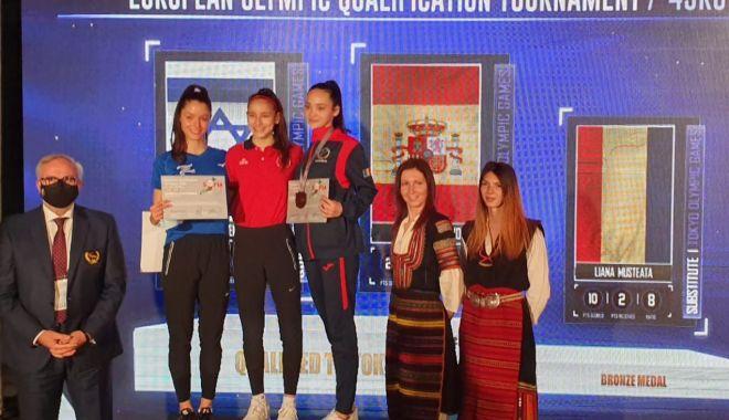 Olimpism / Bronz pentru Liana Musteaţă la taekwondo şi calificare la JO în așteptare - olimpismliana1005-1620652305.jpg
