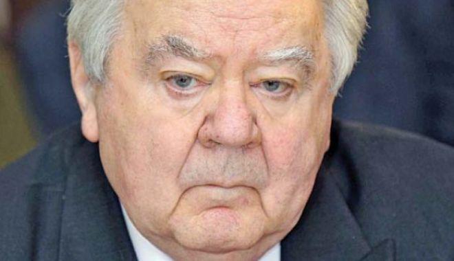 Foto: A murit fostul președinte al Senatului Oliviu Gherman