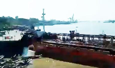 O navă a dat iama într-un snop de bărci - onavaadatiama711-1515331497.jpg