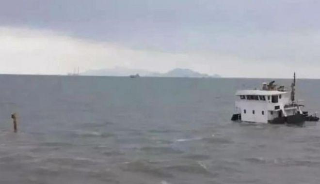 O navă chinezească s-a scufundat în urma unei coliziuni - onavachinezeascasascufundati-1617539325.jpg