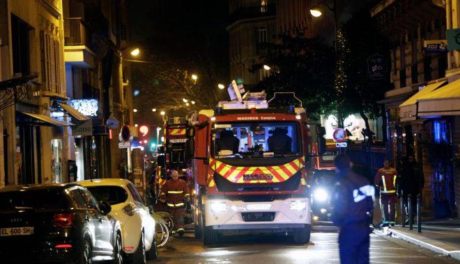 Foto: Opt morți și 30 de răniți într-un incendiu violent la Paris