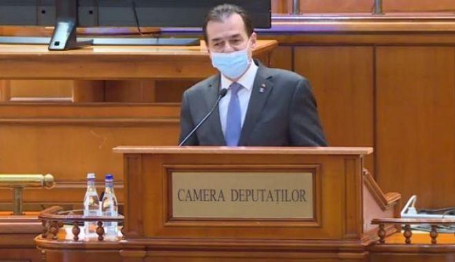 Foto: Orban, în Parlament: Școala începe pe 14 septembrie. Cred că localele pot fi organizate în bune condiții