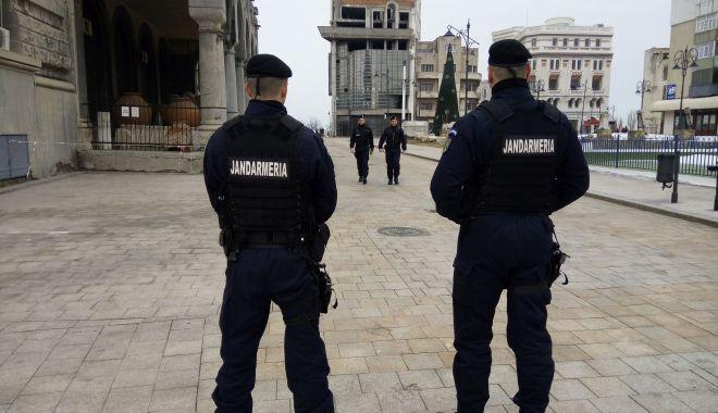 Foto: Peste 70 de jandarmi, în misiune la Constanța