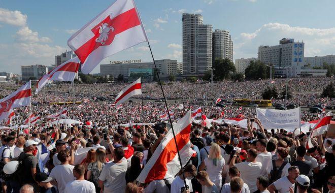 Foto: România a acordat 100.000 de euro pentru susţinerea societăţii civile din Belarus