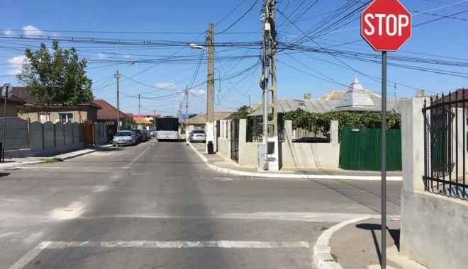 Foto: Anunț de la Primăria Constanța referitor la circulația în cartierul Palazu Mare